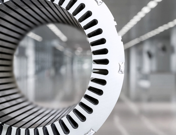 Machines for stator/rotor core production