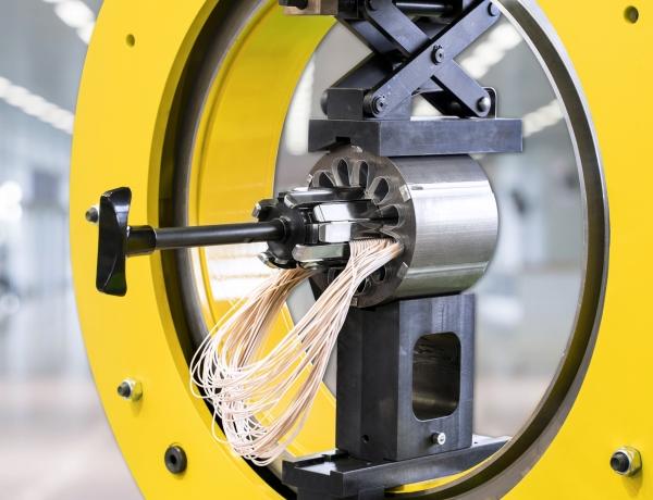 Coil inserting machines